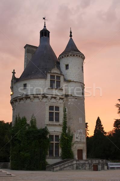 Château tour France Photo stock © johny007pan