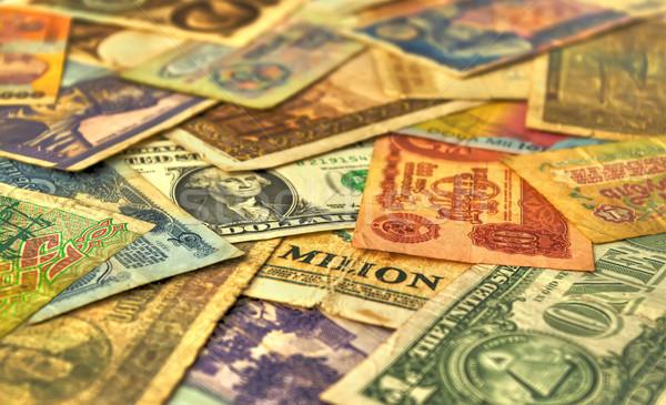 Stock photo: old money