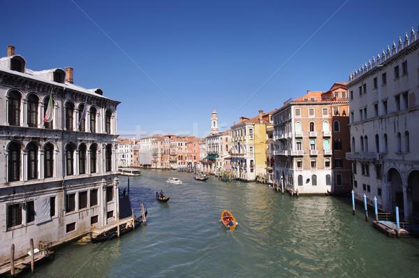 Venise cityscape vue canal eau été Photo stock © johny007pan