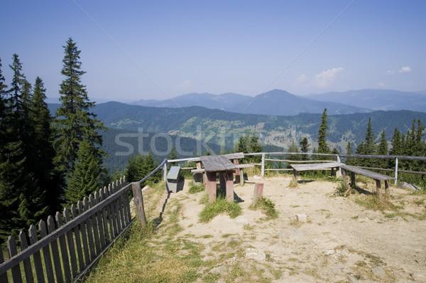 Lieu montagne été paysage roumain Photo stock © johny007pan