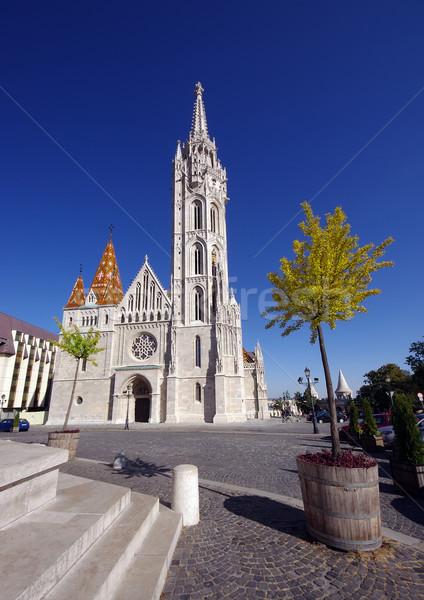 église Budapest Hongrie couleur dieu Europe Photo stock © johny007pan