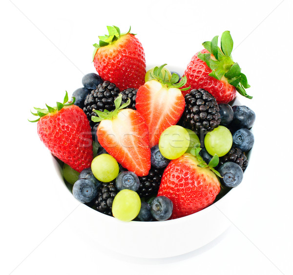 Fresh fruit salad mix Stock photo © Johny87