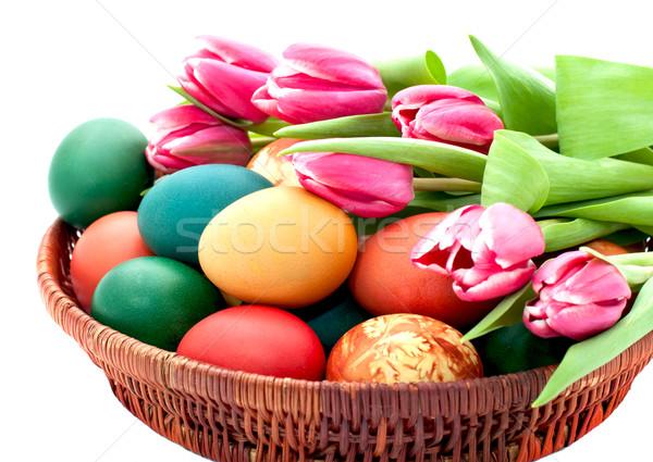 Easter eggs Stock photo © Johny87