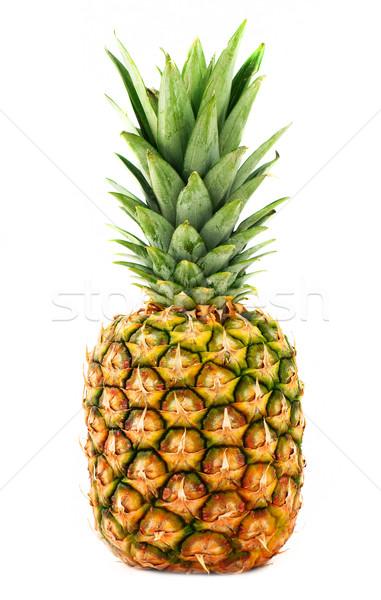 Ananas fraîches savoureux isolé blanche nature Photo stock © Johny87