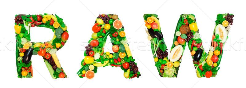 Healthy alphabet - RAW Stock photo © Johny87