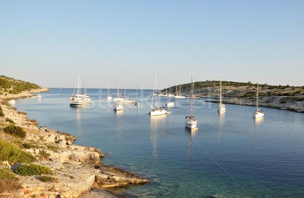 Croatia Cove Stock photo © Johny87