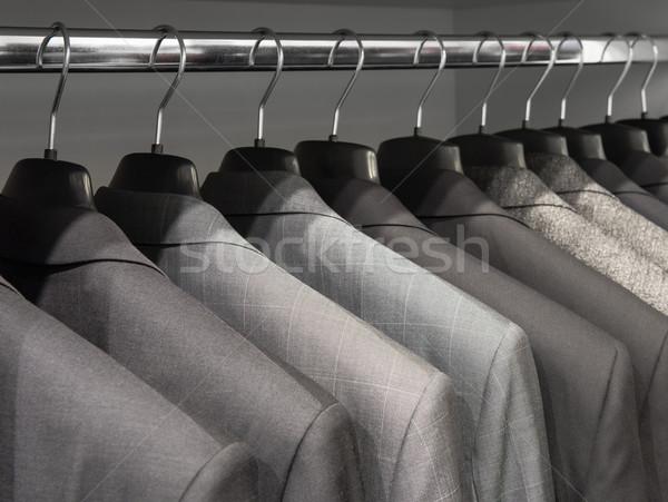 Jackets in the shop Stock photo © Johny87