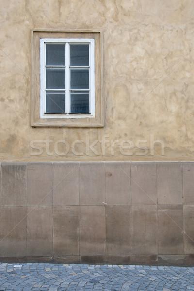 Velho fachada casa velha Praga edifício rua Foto stock © Johny87