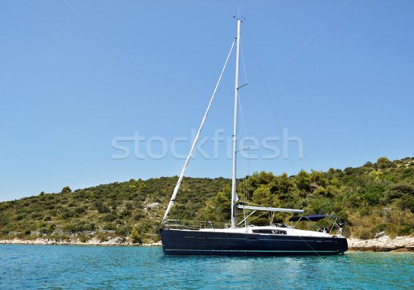 Modern yacht Stock photo © Johny87