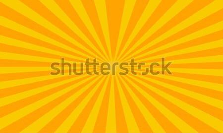 çizgili soyut Retro güneş ışık gün batımı Stok fotoğraf © Johny87