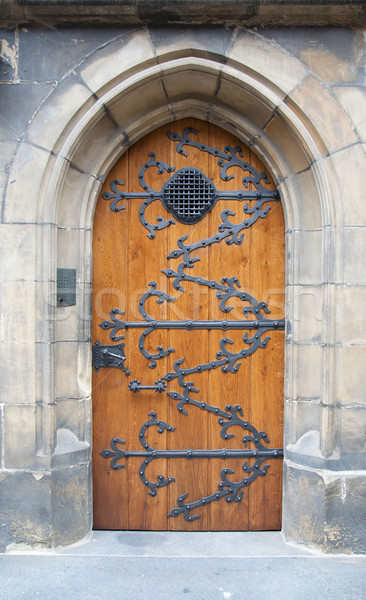 Old wooden door Stock photo © Johny87