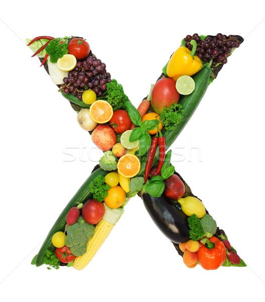 Healthy alphabet - X Stock photo © Johny87