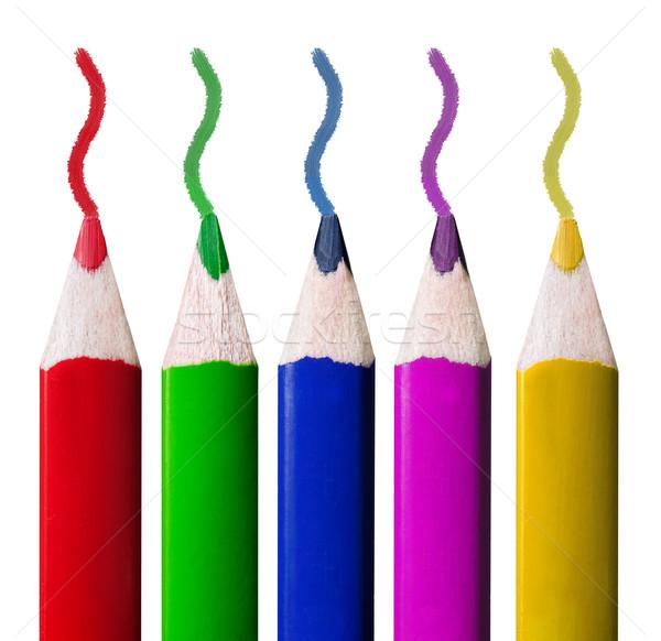Colored pencils Stock photo © Johny87