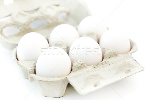 White eggs Stock photo © Johny87
