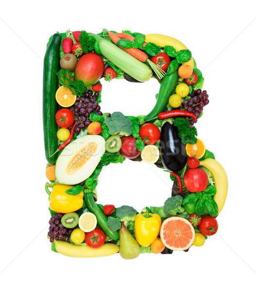 Healthy alphabet - B Stock photo © Johny87