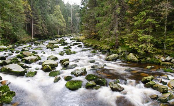 Mountain river waterfall Stock photo © Johny87
