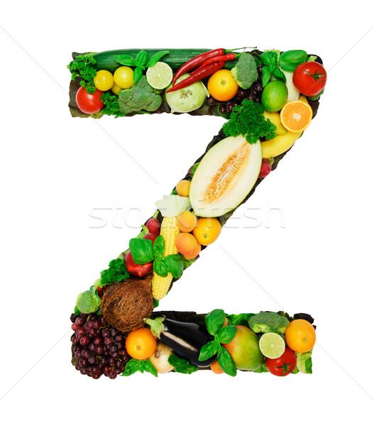 Healthy alphabet - Z Stock photo © Johny87