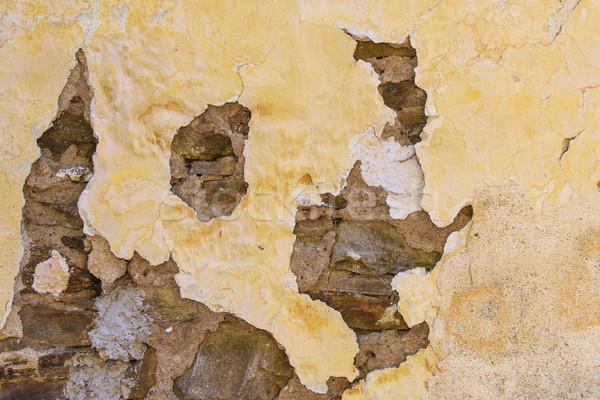 старые фасад кирпичных каменной стеной здании строительство Сток-фото © Johny87