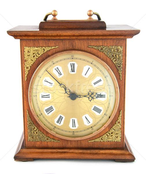 старомодный часы золото Смотреть Сток-фото © Johny87