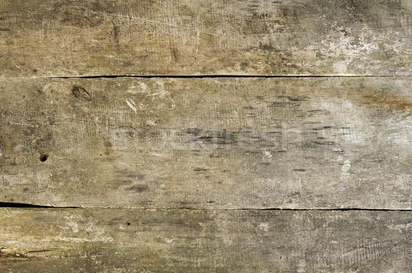Vieux grange la texture du bois naturelles brun plancher de bois Photo stock © Johny87