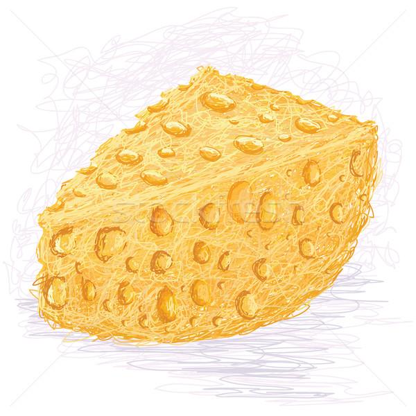 Peynir örnek gıda arka plan Stok fotoğraf © jomaplaon