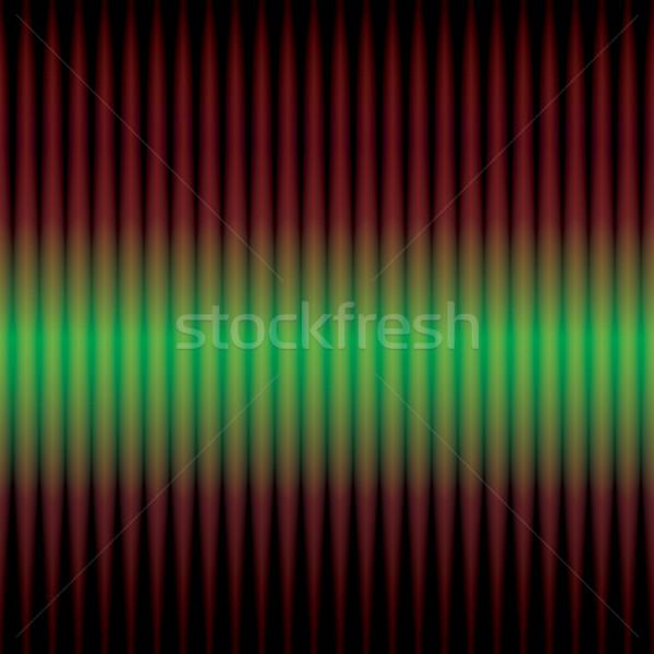 Illusztráció zöld futurisztikus techno terv rádió Stock fotó © jomaplaon