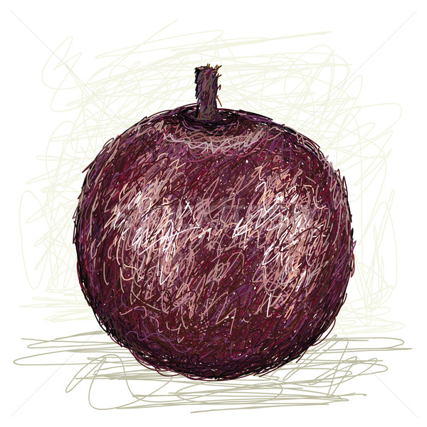 Star elma örnek taze meyve yalıtılmış Stok fotoğraf © jomaplaon