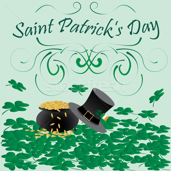 Aziz gün örnek dini semboller dizayn Stok fotoğraf © jomaplaon