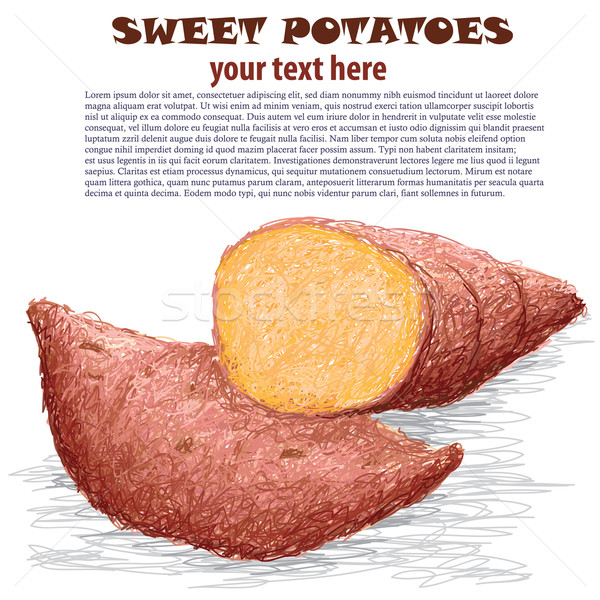 sweet potatoes Stock photo © jomaplaon