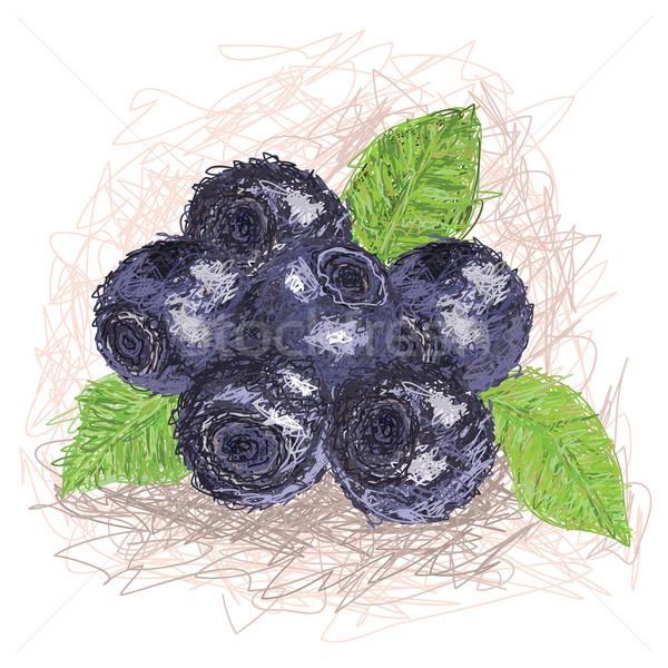 örnek taze meyve gıda Stok fotoğraf © jomaplaon
