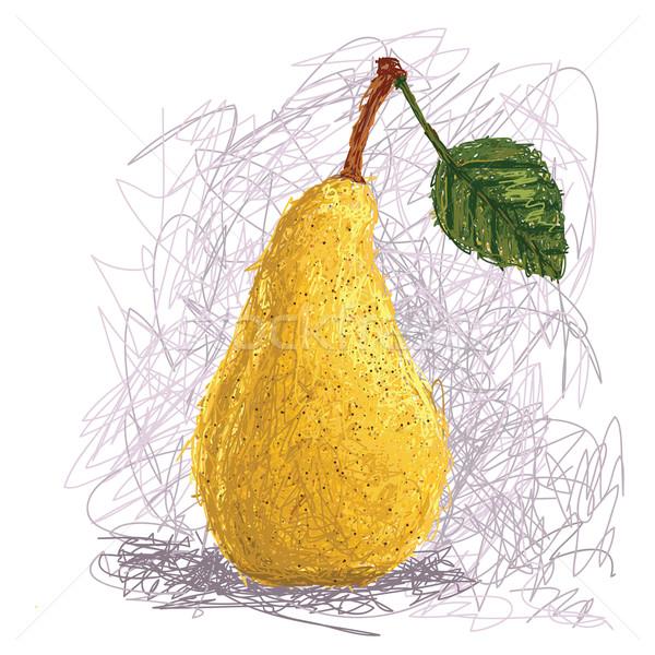 Armut örnek taze meyve gıda Stok fotoğraf © jomaplaon