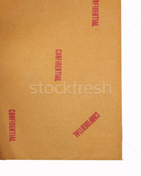 Doc texture sfondo lettera nave timbro Foto d'archivio © jomphong
