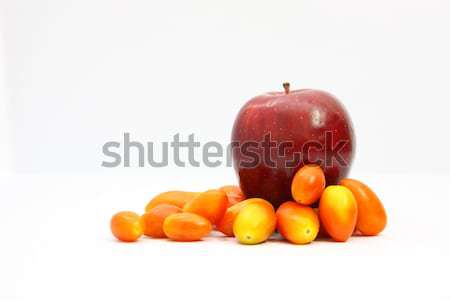 Apple red and tomato1 Stock photo © jomphong