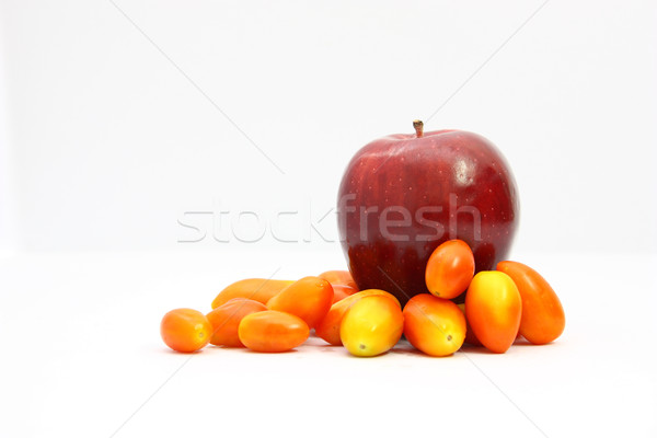 Apple red and tomato2 Stock photo © jomphong