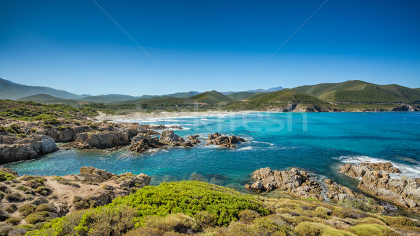 Côte corse plage désert nord eau Photo stock © Joningall