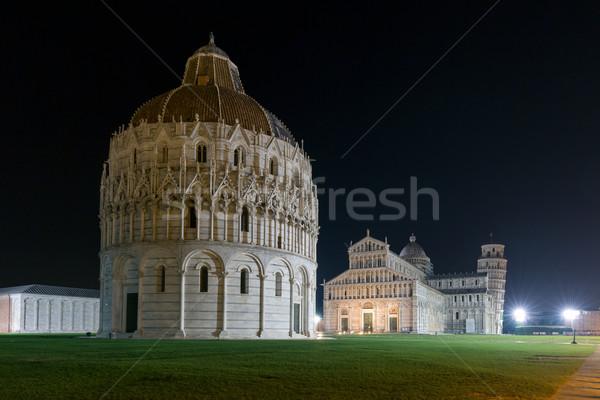 собора башни ночь Италия темно Сток-фото © Joningall