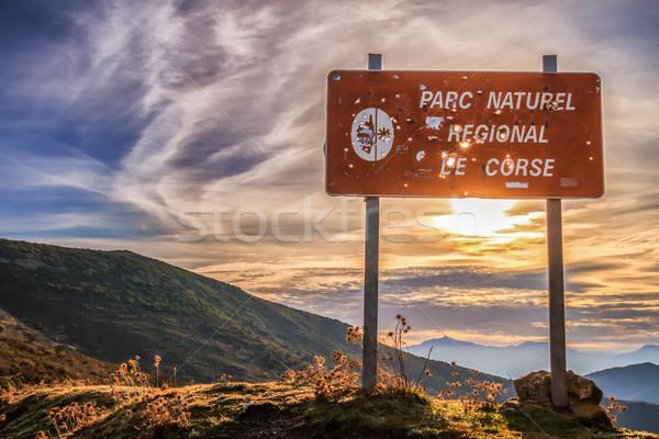 Parc Natural De Corse, Balagne, Corsica Stock photo © Joningall