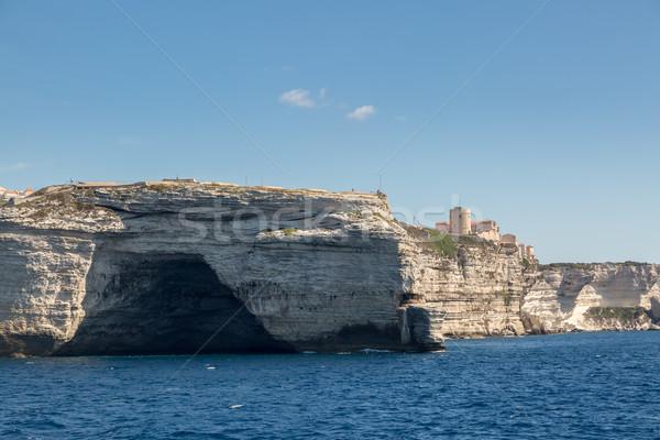 пещере белый юг Корсика Сток-фото © Joningall