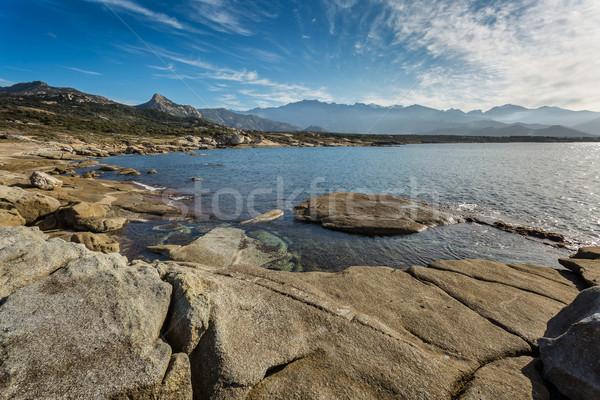 гор регион Корсика воды природы Сток-фото © Joningall