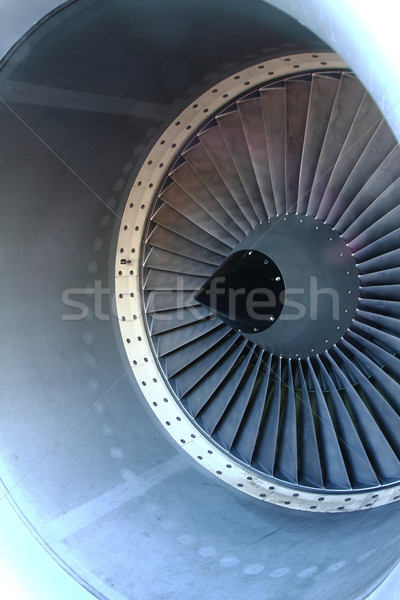 airplane turbine a very nice technology background Stock photo © jonnysek