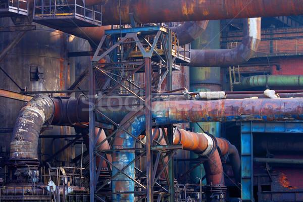 steel background Stock photo © jonnysek