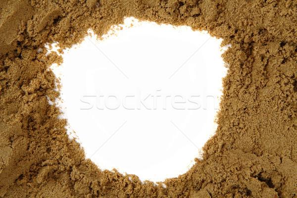 sand frame  Stock photo © jonnysek
