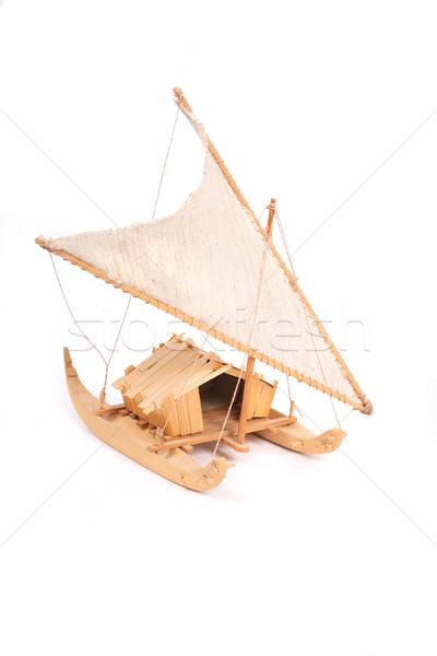 ship toy Stock photo © jonnysek