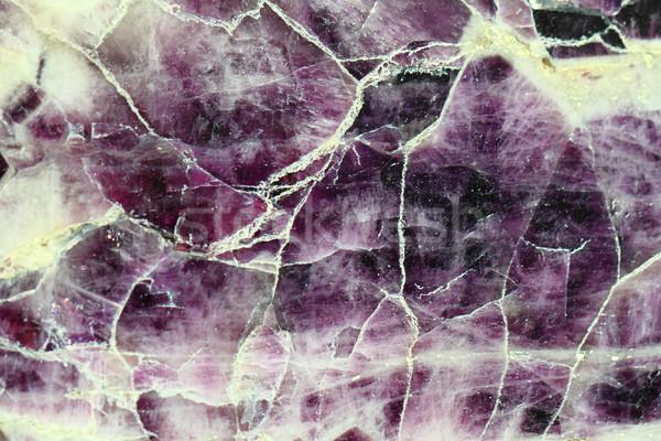 Ametista mineral bom naturalismo textura Foto stock © jonnysek