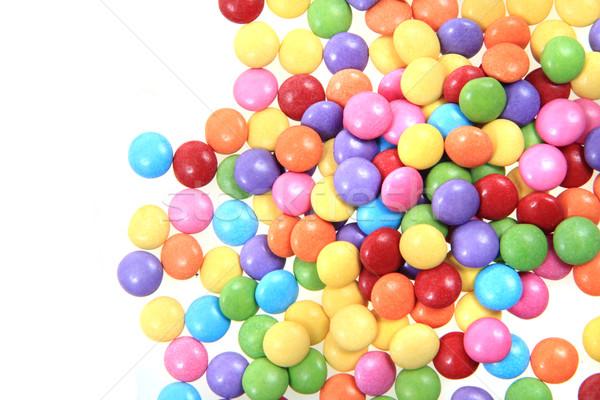 Kolor candy słodkie cukru czekolady tle Zdjęcia stock © jonnysek