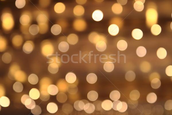 Navidad luces textura agradable vacaciones resumen Foto stock © jonnysek