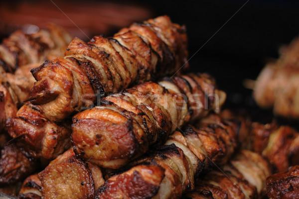 grilled meat Stock photo © jonnysek