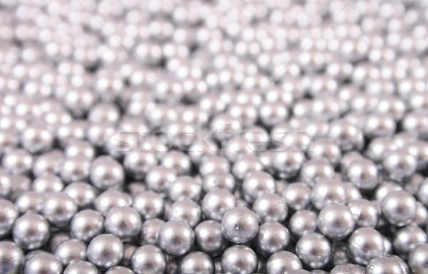 silver balls Stock photo © jonnysek