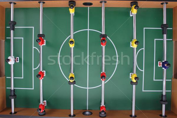 Футбол таблице игры Nice зеленый спорт Сток-фото © jonnysek