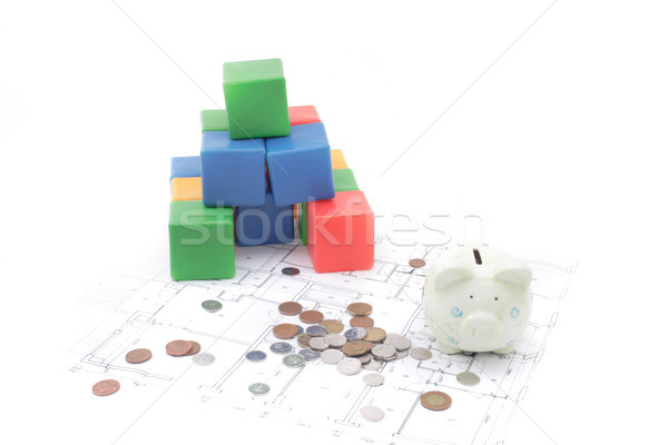 home plans Stock photo © jonnysek